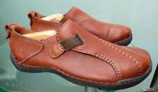 Clarks  Schuhe  Gr. 42 Gr. 8  in braun aus Leder  Top Zustand