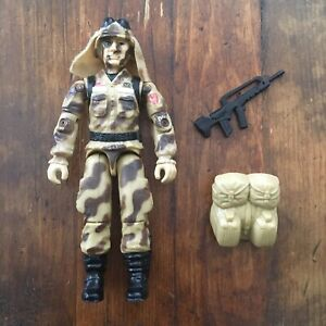 G.I.JOE ACTION FORCE FIGURE DUSTY V10 FROM 2004