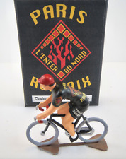 """Paris Roubaix """"L'Enfer Du Nord"""" Metal Cycling Figure Tour De France Rapha"""
