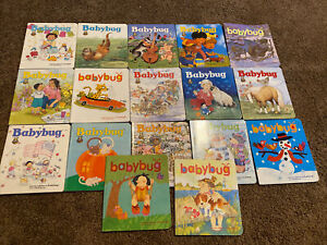 Lot of BABYBUG Magazines Baby Toddler Wipe Off Board Books