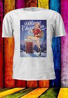 Merry Christmas Mary Xmas Mrs Santa Claus Jessica Men Women Unisex T-shirt 953