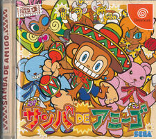 Samba de Amigo  Sega Dreamcast Japan Import  Mint/Good      US SELLER