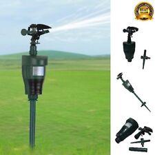 Jet Spray Animal Repeller Automatic Heat Sensitive Eco-Friendly Garden Scarecrow