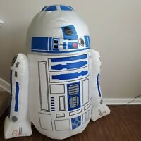 R2-D2 Star Wars Airblown 4 Foot Tall Inflatable Yard Decoration
