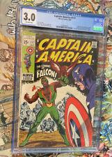 Captain America #117 CGC 3.0 1st appearance Falcon