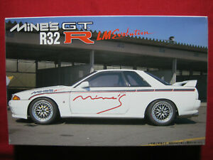 Nissan Skyline R32 Mine's GTR LM Evolution 1/24 Fujimi Japan Model Kit GT-R
