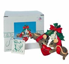 Charming Tails figurine fitz floyd mouse Box anthropomorphic 1st ornament mice