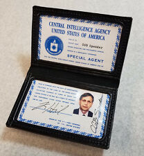 X-Files Prop Cigarette Smoking Man Credential Wallet- SCREEN ACCURATE