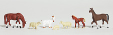 HO Scale Model Railroad Trains Woodland Scenics Livestock Animal Figures 1844