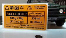 Land Rover 90 110 V8 Tdi Td5 Klimaanlage Klimaanlage V8 Abziehbild bac103320