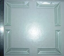 1 x 4 inch Beveled Glass Mitered Corner Bevel Set (8 pieces) 4 left and 4 right