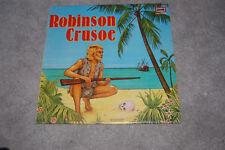 LP Schallplatte  ROBINSON CRUSOE E235 [EUROPA] jugendserie Daniel Defoe