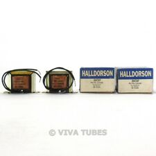NOS NIB Halldorson Pair of 26C87 Filter Choke Transformers 16 HY 50mADC 580ohm