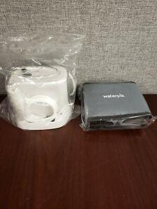 Sealed - No Package Waterpik Nano Water Flosser WP-310W W/ Tank & Case NO TIPS