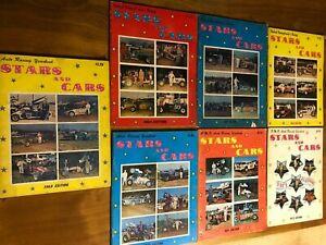 Stars & Cars yearbook Magazine 1965 - 72  auto racing  Lot of 7
