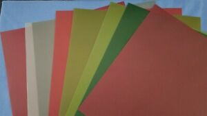 Anna Griffin Christmas Solid Color Vellum Sheets 12 x 12 - Set of 9