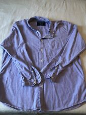 American Eagles Outfitters Vintage Fit XXL Men's Purple Long Sleeve Shirt