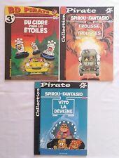 Lot BD - Collection Pirate Spirou et Fantasio 26 40 43 / JANRY & FOURNIER