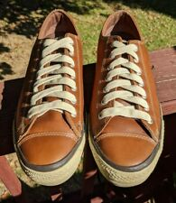 Converse CT All Star Unisex Sneakers Brown 126814C Leather Shoes M 12 W 14