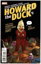 Howard the Duck (2016) #1E NM 9.4 Variant First Story Appearance of Gwenpool