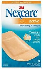 Nexcare Active Bandages, Extra Cushion, Knee & Elbow, 8 ct