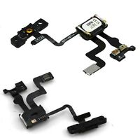 For iPhone 4S Power Button Flex Cable With Ear Speaker & Proximity Sensor