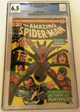 Amazing Spider-Man #135 Marvel 1974 CGC 6.5 2nd Appearance Punisher Off-White
