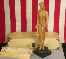 Vintage 1940s Simplicity Fashiondol Sewing Mannequin Doll Miniature Latexture