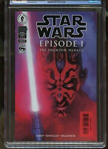 STAR WARS EPISODE I THE PHANTOM MENACE #3 CGC GRADED 9.8 WHITE PAGES 1999