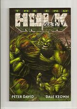 Incredible Hulk: The End #1 Nm 9.4 Signed By Peter David! Htf *Limited To 499*