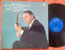 BACH - Guitar Transcriptions MILAN ZELENKA Supraphon LP