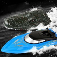 2.4G Electric Simulation Remote Control RC Super Mini Speed Boat Kid Toy Charm