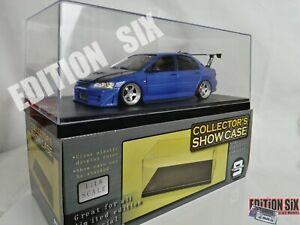 ERTL 1/18 2001 MITSUBISHI LANCER EVOLUTION VII Evo 7 Custom Modified Blue