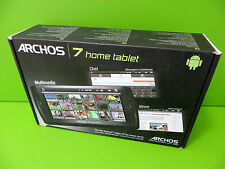 Archos 7 8GB Home Tablet V2 MP4/MP3/Photo Viewer Black - Faulty