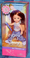 2002 Mattel Barbie Singing Star JENNY All Grown Up Kelly Club NEW IN BOX SEALED