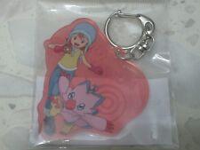 Sora & Piyomon Biyomon Crest of Love Keychain Keyring (Digimon Adventure tri.)