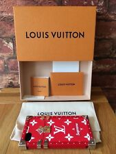 Louis Vuitton X Supreme Eye-Trunk Red Box Logo Monogram DS Wallet for IPhone 7/8