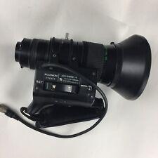 Fujinon Wide angle lens A13 x10BRM-8 1:1.7 10-130mm Fugi