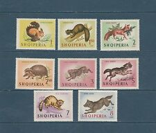 Albanie faune   animaux divers   1964  num: 677/84  **