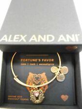 Alex and Ani Fortune's Favor Rafaelian Gold Expandable Charm Bangle Z19
