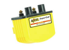 Accel - 140408 - Single Fire Super Coil, Yellow Harley Davidson 3.0 Ohms Resista