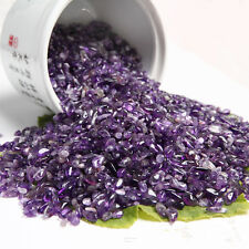 50g New 100% Natural Lot of Tiny Amethyst Quartz Crystal Rock chips CY4