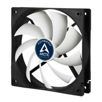 4 x Pack of Arctic Cooling F12 PWM PST 120mm Case Fans, 1350 RPM, 24 Hr Delivery