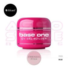 UV GEL base one FRENCH PINK 50g Silcare COSTRUTTORE rosa lattiginoso BABYBOOMER