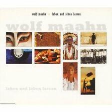 Wolf Maahn Leben und leben lassen  [Maxi-CD]