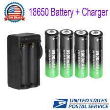 18650 Battery Rechargeable Charger 3.7V  Li-ion For Headlamp Flashlight  US