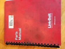LINKBELT LINK-BELT LS5800 5800  PARTS CATALOG MANUAL EXCAVATOR