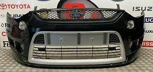 FORD S MAX SPORT TITANIUM 2006-2010 GENUINE COMPLETE FRONT BUMPER IN BLACK