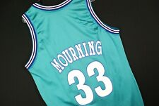 Vintage 90s Champion Alonzo Mourning Jersey Nba Charlotte Hornets Mens