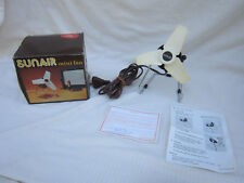 Sunair Desk Portable Vintage Fan Retro Antique Original Box